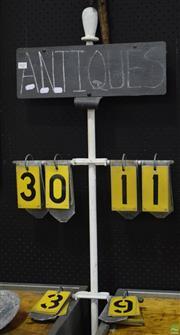 Sale 8550 - Lot 1027 - Vintage Lawn Bowl Scorer
