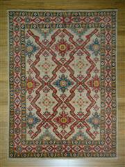 Sale 8672C - Lot 44 - Afghan Kazak 253cm x 188cm