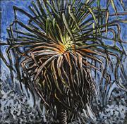 Sale 8693A - Lot 5028 - A D (Tony) North - Pandanus Palm 60.5 x 61cm