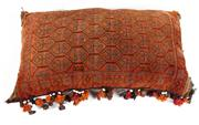 Sale 8715C - Lot 15 - A Persian Handmade Cushion, 100% Wool, 110 x 60cm