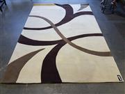 Sale 8777 - Lot 1070 - Modern Brown Tone Floor Rug (275 x 190cm)