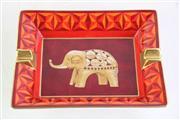 Sale 8963 - Lot 100 - Hermés Ashtray with elephant motif (W19.5cm)