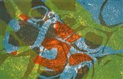 Sale 8980A - Lot 5093 - Una Foster (1912 - 1996) - Rock Pool, 1971 27.5 x 43.5 cm (frame: 46 x 61 x 2 cm)