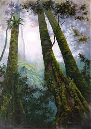 Sale 9013 - Lot 503 - Robyn Collier (1949 - ) - Misty Canopy, New England 69 x 49 cm (frame: 100 x 80 x 5 cm)
