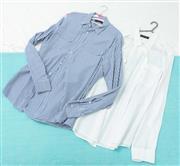 Sale 9066H - Lot 84 - Two Ralph Lauren Womens button up shirts, both size L- XL
