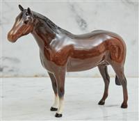 Sale 9090H - Lot 52 - A Royal Doulton Horse. Length 16cm