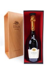 Sale 8514 - Lot 1746 - 1x 2006 Taittinger Comtes de Champagne Blanc de Blancs, Champagne - in timber presentation box