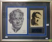 Sale 8600 - Lot 2070 - Spencer Tracy, Signed Photograph