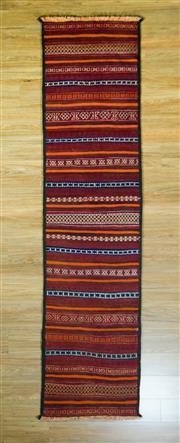 Sale 8672C - Lot 45 - Persian Kilim Runner 285cm x 69cm
