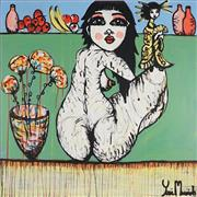 Sale 8968A - Lot 5032 - Yosi Messiah (1964 - ) - Life a Blossom 102 x 102 cm (total: 102 x 102 x 4 cm)