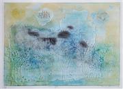 Sale 8867A - Lot 5095 - Shoichi Hasegawa (1929 - ) - Ciel en Fete c1975 49 x 59cm