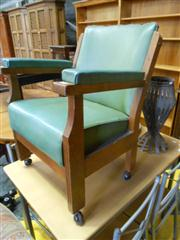 Sale 7943A - Lot 1541 - Scrolled Arm Chair with Another (2)