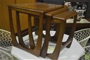 Sale 8287 - Lot 1090 - G-Plan Teak Nest of Tables