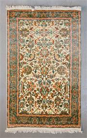 Sale 8499C - Lot 87 - Kashmirir Silk 155cm x 94cm