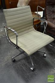 Sale 8528 - Lot 1052 - Herman Miller Eames Group Chair (base not original)