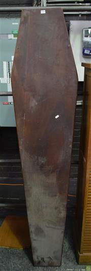 Sale 8550 - Lot 1021 - Hand Made Timber Coffin