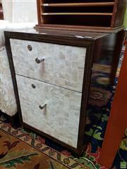 Sale 8611 - Lot 1015 - Lockable Modern Bedside