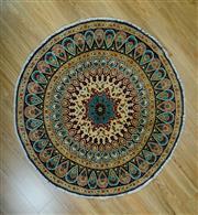Sale 8672C - Lot 46 - Afghan Round Chobi 126cm x 126cm