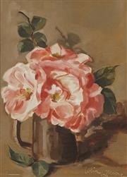 Sale 8751 - Lot 2002 - Colin Moore - A Jug of Flowers, 1970 28 x 20cm