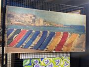 Sale 8932 - Lot 2023 - Artist Unknown - Views of Sydney, double sided acrylic on wooden board