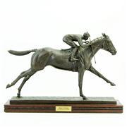 Sale 8387 - Lot 79 - Marilyn Newmark Bronze Man O War