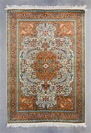 Sale 8499C - Lot 88 - Kashmiri Silk 182cm x 125cm