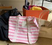 Sale 8510A - Lot 96 - A small quantity of assorted bags to include denim tote