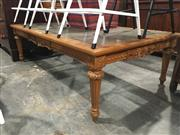 Sale 8744 - Lot 1031 - French Style Glass Top Coffee Table