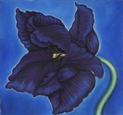 Sale 8836 - Lot 2008 - Margot Hutcheson (1952 - ) - Parrot Tulip, 2003 81.5 x 86.5cm