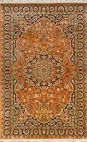 Sale 8370C - Lot 16 - Kashmiri Silk 160cm x 100cm
