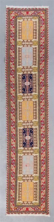 Sale 8499C - Lot 89 - Persian Sumak 390cm x 75cm