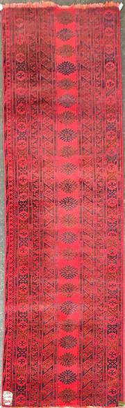 Sale 8601 - Lot 1139 - Afghan Qunduzi (260 x 63cm)