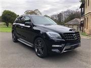 Sale 8630A - Lot 1 - Make: Mercedes-Benz Model: ML500 Body: Wagon Year: 2013 Reg No: DXD 46Y Reg Exp: 5/2/19 Ext Colour: Obsidian Black Int...