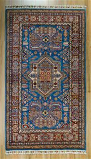 Sale 8672C - Lot 48 - Afghan Super Kazak 168cm x 197cm