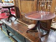 Sale 8717 - Lot 1011 - Wine Table x 2