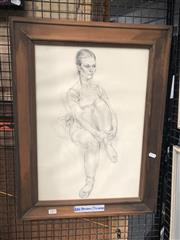 Sale 8784 - Lot 2092 - Alan Stuthridge Pencil Work