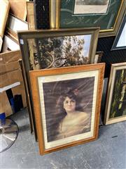 Sale 8891 - Lot 2098 - Group of Assorted Vintage Prints incl. John Glover, L Campbell Taylor & Portrait of a Maiden