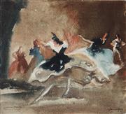 Sale 8901A - Lot 5040 - Harold Byrne (1899 - 1966) - Spanish Fiesta, c1935 21.5 x 24 cm