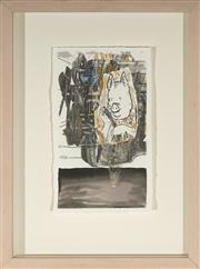 Sale 9082 - Lot 2012 - Peter Ellis (1956 - ) Sump mixed media on paper, 42 x 31cm (frame), 42 x 31cm -