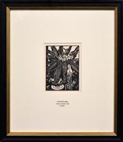 Sale 8347A - Lot 52 - Thea Proctor (1879 - 1966) - Frangipani 16.5 x 12.5cm