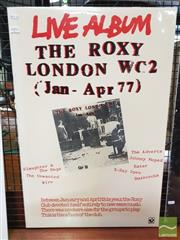 Sale 8421 - Lot 1051 - Vintage and Original London WC2 Live Album Promotional Poster (76cm x 54cm )