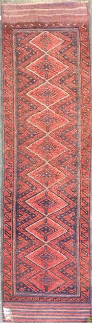 Sale 8601 - Lot 1172 - Persian Balouch Runner (270 x 60cm)