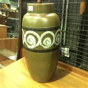 Sale 8643 - Lot 1082 - West German Scheurich Vase (H: 38cm)