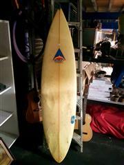 Sale 8668 - Lot 2091 - Tri-Fin Surfboard