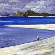 Sale 8693A - Lot 5041 - A D (Tony) North - The Beachcomber 40 x 40cm