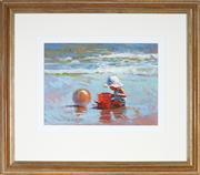 Sale 9047A - Lot 5096 - Bill Buter (1941 - ) - The Red Bucket, 1991 29 x 39.5 cm (frame: 62 x 72 x 3 cm)