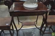Sale 8310 - Lot 1638 - Teired Occasional Table