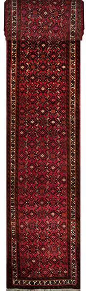 Sale 8353C - Lot 60 - Persian Husinabad Long Runner 810cm x 85cm