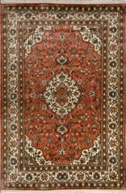 Sale 8380C - Lot 64 - Kashmiri Silk 190cm x 125cm