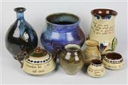 Sale 8384 - Lot 70 - Australian Studio Pottery Wares with Torquay Wares incl. a Jug